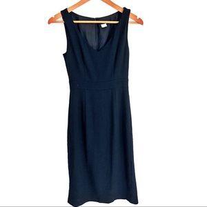 J. Crew   Black Wool Dress (A13)